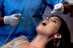 Examin δοντιών Στοκ Εικόνες
