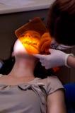 Examin δοντιών Στοκ φωτογραφία με δικαίωμα ελεύθερης χρήσης