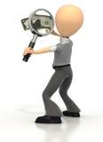 Examinação do dinheiro Fotografia de Stock