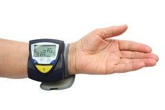 Examinación de la presión arterial Fotos de archivo