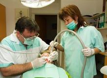 Examinación dental Fotos de archivo