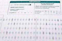 Examination stock images