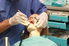 Examination dentist Stock Image