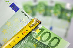 Examination money stock image
