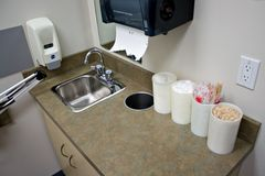 Examination Room Sink Royalty Free Stock Image