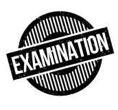 Examination rubber stamp Stock Images