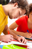 Examination session Stock Images