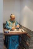 The examinee wax in ancient China Royalty Free Stock Image