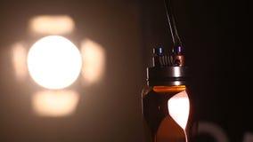 Examinez brûler les nouvelles doubles bobines sur la base de plate-forme d'atomiseurs de la cigarette électronique pour vaping, f clips vidéos