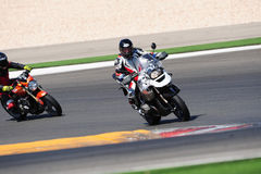 Examinez la visite, Supersports sur des Superbikes, Portugal Photos stock