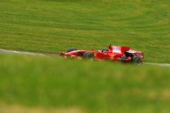 Examinez le programme Mugello de clienti de Ferrari F1 photos libres de droits