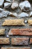 Example of ancient Roman masonry Stock Photo