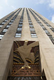 Example of Art Deco in architecture Royalty Free Stock Photos