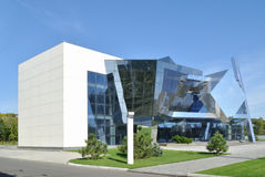 The example of cubism in modern architecture Royalty Free Stock Photos