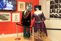 Example of dancing costumes from much loved Nutcracker,Dance Museum,Saratoga New York,2016 Royalty Free Stock Images
