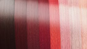 Example of different hair colors as background 3d render Royalty Free Stock Photos