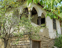Example of ecological building traditional houses, Serbia Royalty Free Stock Image