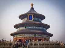 Example of extraordinary architecture in China Royalty Free Stock Images
