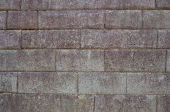Example of Inca brickwork inside Machu Picchu Stock Photo