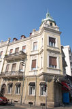 Example of a luxury Art Nouveau palace at the street corner Stock Photo