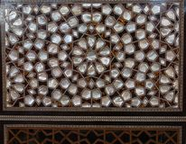 Example of Mother of Pearl inlays royalty free stock images