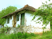 Example of pictorial traditional, old village house, Serbia Royalty Free Stock Photography