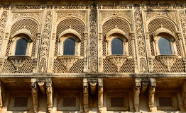 Example of richly decorated Indian architecture Royalty Free Stock Images