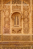 Example of richly decorated Indian architecture Royalty Free Stock Photography