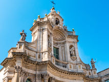 Example of Sicilian Baroque. Royalty Free Stock Image