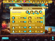 Example of store sales boosters for computer games stock illustration