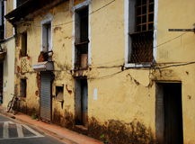 An example of the typical arcitecture in Panaji Royalty Free Stock Image
