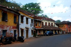 An example of the typical arcitecture in Panaji Royalty Free Stock Images
