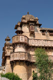 Example of typical Indian architecture Royalty Free Stock Image