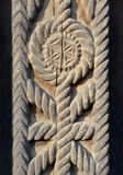 The example of wood carving Royalty Free Stock Images