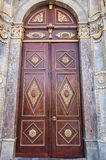 Example of wood islam art. Royalty Free Stock Images