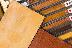 Example of wood textures Royalty Free Stock Photo