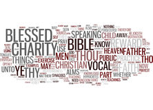 Examples From The Bible To Use In Your Everyday Practice Text Background Word Cloud Concept Royalty Free Stock Image