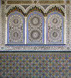 Examples of Moroccan architecture Royalty Free Stock Photography