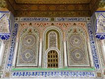 Examples of Moroccan architecture Stock Image