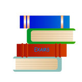 Exams Books Royalty Free Stock Image