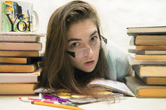 Exams and school concept Royalty Free Stock Images