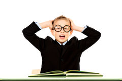 Before exams Stock Images
