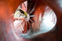 Exaustão do motor de um plano VTOL do Harrier Imagens de Stock Royalty Free