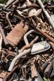 Exaustão velha do carro Imagem de Stock