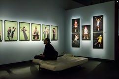 Exbition da fotografia de Helmut Newton em Éstocolmo foto de stock royalty free