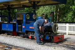 Exbury Steam Railway Royalty Free Stock Image