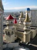 Excalibur旅馆和赌博娱乐场,拉斯维加斯,内华达 免版税库存图片
