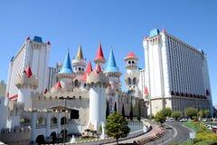 Excalibur旅馆拉斯维加斯 库存照片
