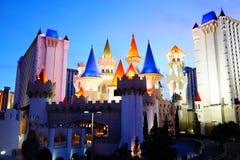 Excalibur旅馆&赌博娱乐场20 库存照片