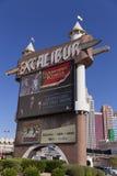 Excalibur afronta el marqueel en Las Vegas, nanovoltio el 19 de abril de 2013 Fotografía de archivo